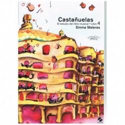 Maleras. Castañuelas. El Estudio del Ritmo Musical Vol.4 +CD