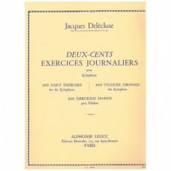 Delecluse, J 200 Ejercicios Diarios para Xilofono Vol.1