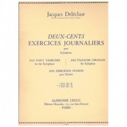 Delecluse. 200 Ejercicios Diarios para Xilofono Vol.2
