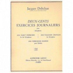Delecluse. 200 Ejercicios Diarios para Xilofono Vol.3
