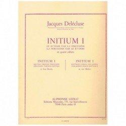 Delecluse, J Initium 1. El...