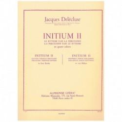 Delecluse, J Initium 2. El Ritmo para la Percusion