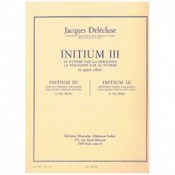 Delecluse, J Initium 3. El Ritmo para la Percusion