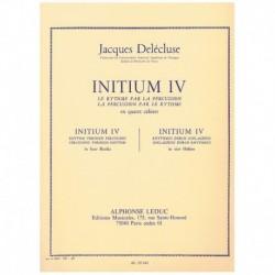 Delecluse, J Initium 4. El Ritmo para la Percusion