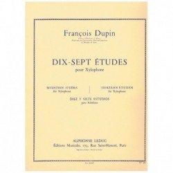 Dupin.17 Estudios para Xilofono