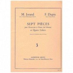 Jorand/Dupin. 7 Piezas para...
