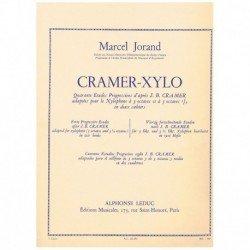 Jorand. Cramer-Xylo. 40 Estudios Progresivos para Xilofono Vol.1