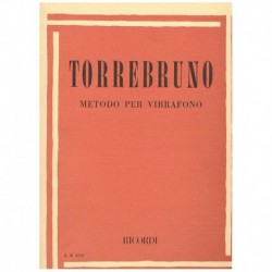 Torrebruno. Metodo para Vibrafono