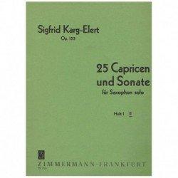 Karg-Elert  25 Caprichos y...