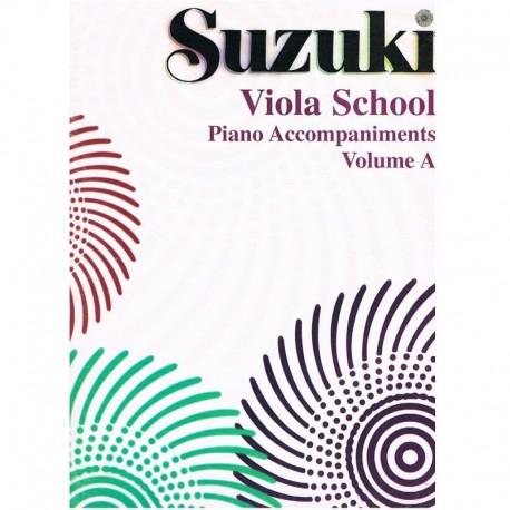 Suzuki Viola School (Acompañamiento Piano Vol.A)