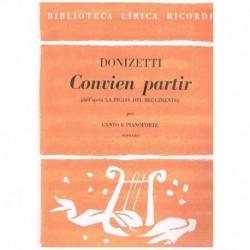 Donizetti, Gaetano. Convien...