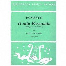 Donizetti, Gaetano. O Mio...