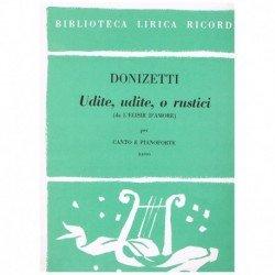 Donizetti, Gaetano. Udite,...