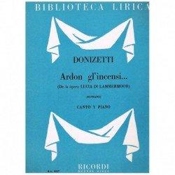 Donizetti, Gaetano. Ardon...