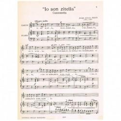 Perti, Jacopo. Io Son Zitella (Voz Soprano/Piano)