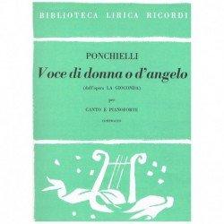 Ponchielli, Amílcare. Voce...