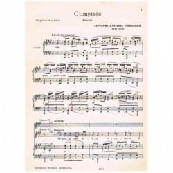 Pergolesi, G.B. Olimpiade (Duo Sopranos/Piano)