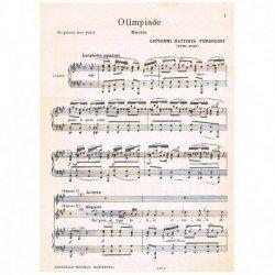 Pergolesi, G.B. Olimpiade...
