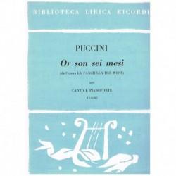 Puccini, Giacomo. Or Son...