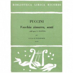 Puccini, Giacomo. Vecchia...