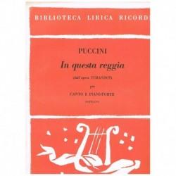 Puccini, Giacomo. In Questa...