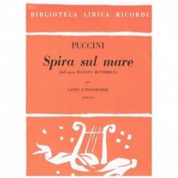 Puccini, Giacomo. Spira Sul...
