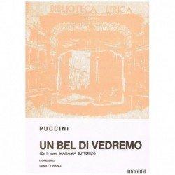 Puccini, Giacomo. Un Bel di...