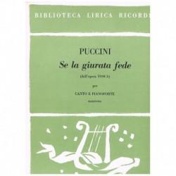Puccini, Giacomo. Se La...