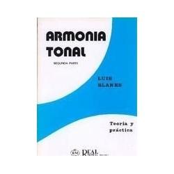 Blanes. Armonía Tonal 2ª Parte. Teoría y Práctica