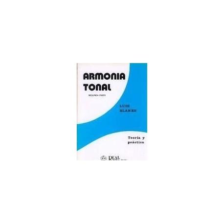 Blanes. Armonía Tonal 2ª Parte. Teoría y Práctica. Real Musical