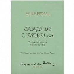 Pedrell, Felipe .Canción de...