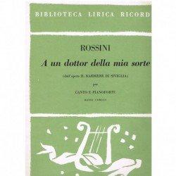 Rossini, Gioacchino. A un...