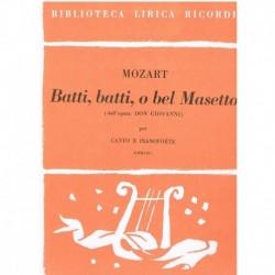 Mozart. Batti, Batti, O Bel...