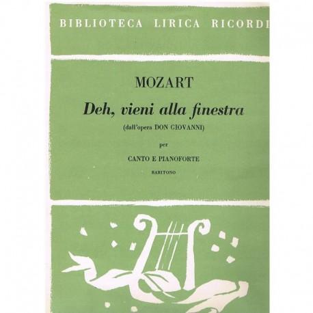 Ricordi deh vieni alla finestra de don giovanni - Mozart don giovanni deh vieni alla finestra ...
