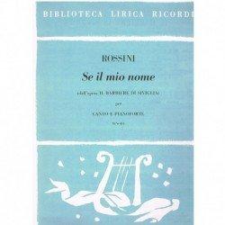 Rossini, Gioacchino. Se il...