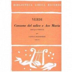 Verdi, Giuseppe. Canzone...