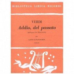 Verdi, Giuseppe. Addio, del...