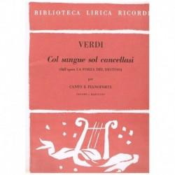 Verdi, Giuseppe, Col Sangue...