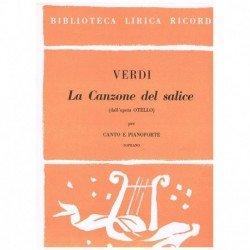 Verdi, Giuseppe. La Canzone...