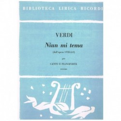 Verdi, Giuseppe. Niun Mi...