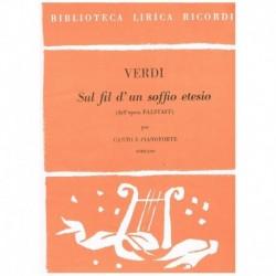 Verdi, Giuseppe. Sul Fil...