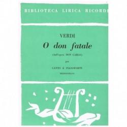 Verdi, Giuseppe. O Don...