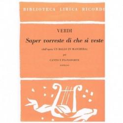Verdi, Giuseppe. Saper...