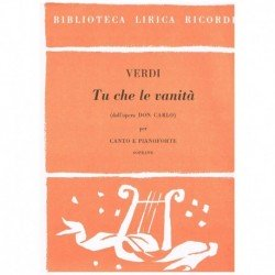 Verdi, Giuseppe. Tu Che le...