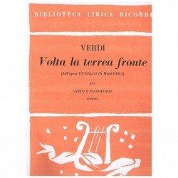 Verdi, Giuseppe. Volta la...
