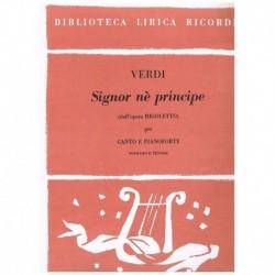 Verdi, Giuseppe. Signor Ne...