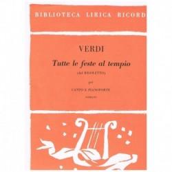 Verdi, Giuseppe. Tutte Le...