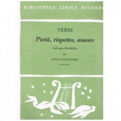 Verdi, Giuseppe. Pieta,...