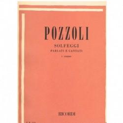 Pozzoli, Ettore. Solfeo Hablado y Cantado Vol.1