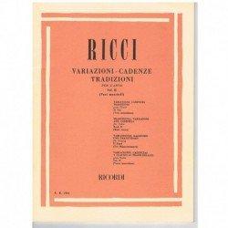 Ricci, Luigi.  Variaciones...